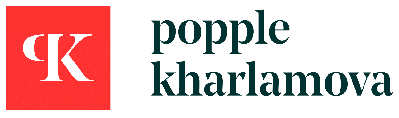 Popple Kharlamova – Digital, Branding & Design